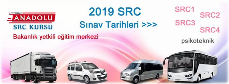 SRC Sınav Takvimi