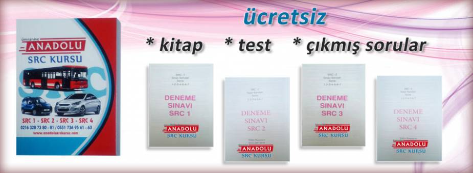 Ücretsiz Src kitabı ve Testler